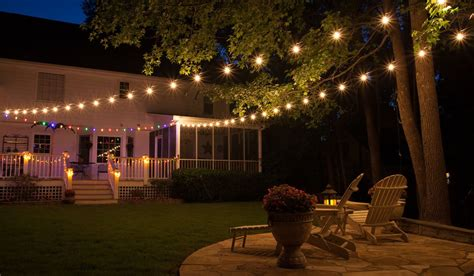 Outdoor Yard Lights by Patio Lights Yard Envy