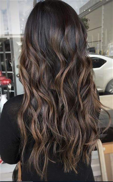 Espresso Hair Color With Caramel Highlights by 25 Best Ideas About Highlights On