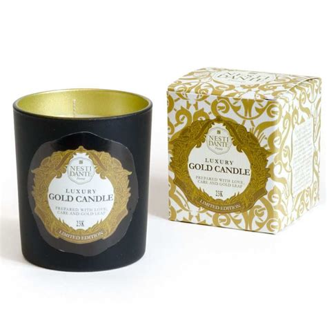 candele firenze luxury gold candle nesti dante firenze cartoleria