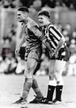 Classic caption this! Vinnie Jones grabs Gazza by the ...