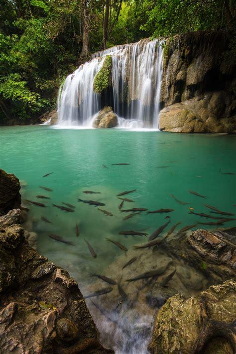 Erawan Waterfall Erawan National Park Kanchanaburi