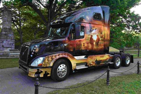 mack volvo trucks volvo mack honor service members with memorial day