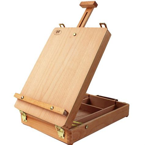 table top desk organizer artwork wooden artist 39 s painting drawing table top desk