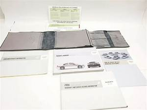 2006 06 Volvo S60  U0026 S60r Owners Manual Guide Books Set W