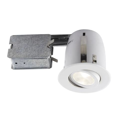 recessed heat l fixture bazz 3 85 in white slim multidirectional recessed
