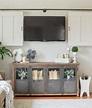 New Cabinet in the Living Room - Little Vintage Nest