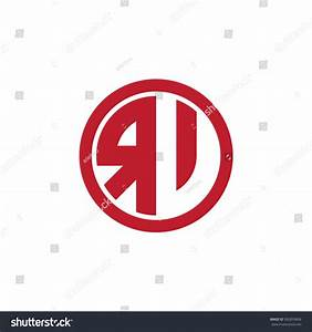 Rv Initial Letters Circle Business Logo Stock Vector ...