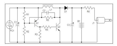 Solar Powered Mobile Phone Battery Charger Circuit Schematic