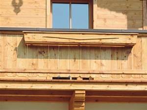 Balkon Blumenkasten Holz : fassade balkon terrasse holzbau mitterer ~ Orissabook.com Haus und Dekorationen