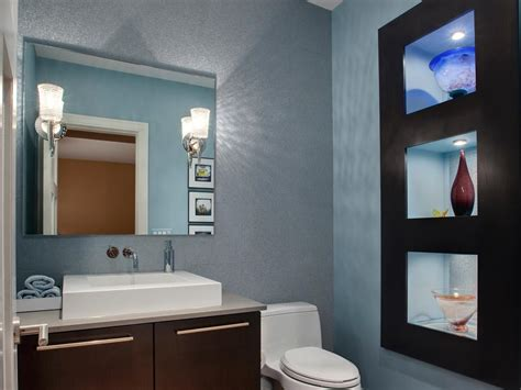 bathroom  powder room hgtv
