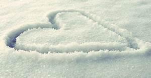 snow heart on Tumblr