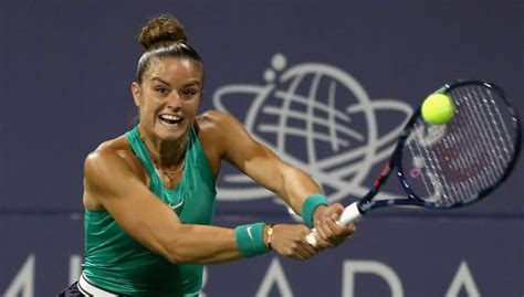 All the latest tennis action on eurosport. Maria Sakkari set for maiden final after ousting Danielle Collins in San Jose