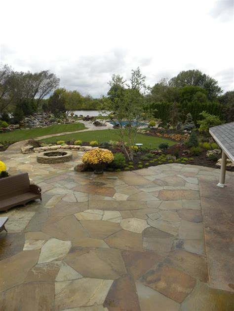 Patio Pictures by Flagstone Patio Valparaiso In Photo Gallery