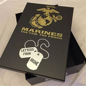 25 best ideas about basic training letters on pinterest With marine letter box