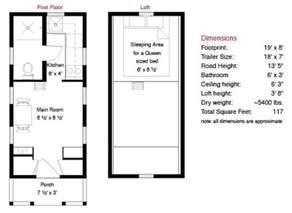 Genius Plans For A Tiny House by Tumbleweed Tarleton Tiny House