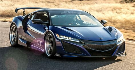 acura nsx dream project by scienceofspeed coming to sema