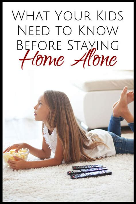 what your need to before staying home alone 854 | What Your Kids Need to Know Before Staying Home Alone pin