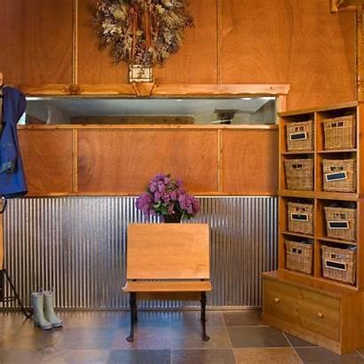 Interior Metal Panels Panel Wainscot Corrugated Walls