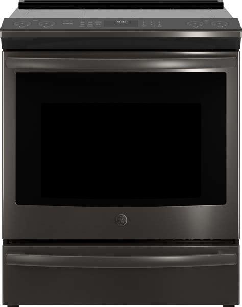 phsblts ge profile    induction range wifi black stainless steel