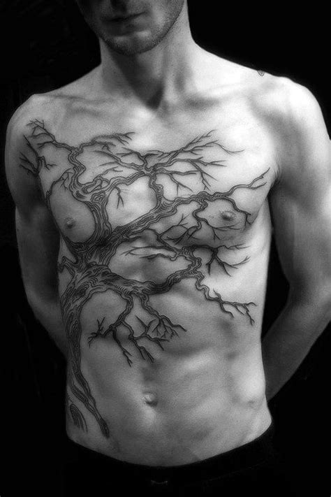 Top 90 Best Chest Tattoos For Men - Manly Designs And Ideas