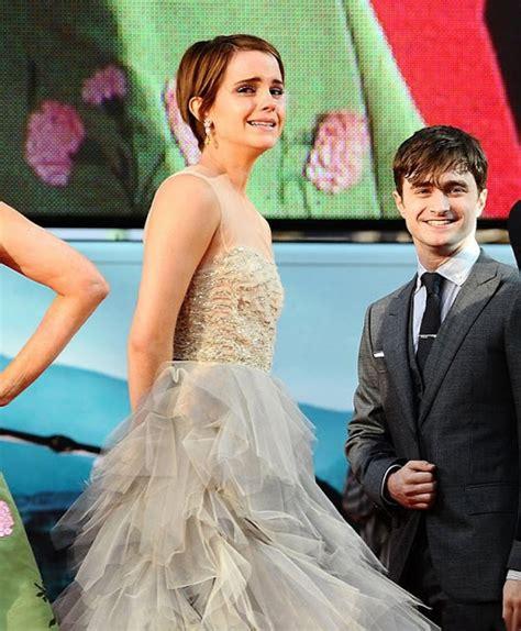 Emma Watson Oscar Renta Dress Harry Potter Premier