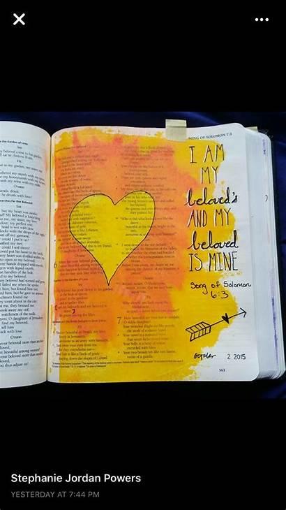 Bible Solomon Song Study Uploaded Journaling