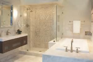 The Queen Beige Marble Collection - Bathroom - minneapolis