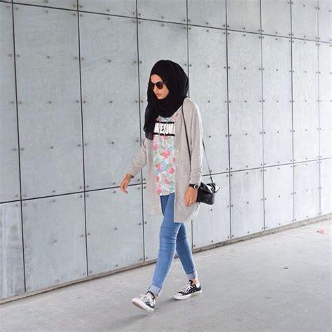 fashion hijab casual style  populer