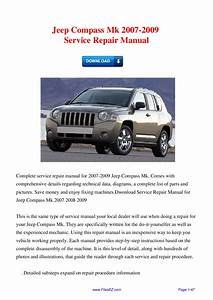 Jeep Compass Mk 2007
