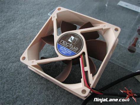 noctua rubber fan mounts noctua case fan review super silent fans ninjalane