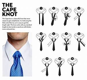 the cape necktie knot diagram   Accessories/Handbags ...