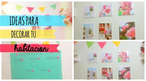 decorar tu cuarto diy diy ideas para decorar tu habitacion cuarto alediytips