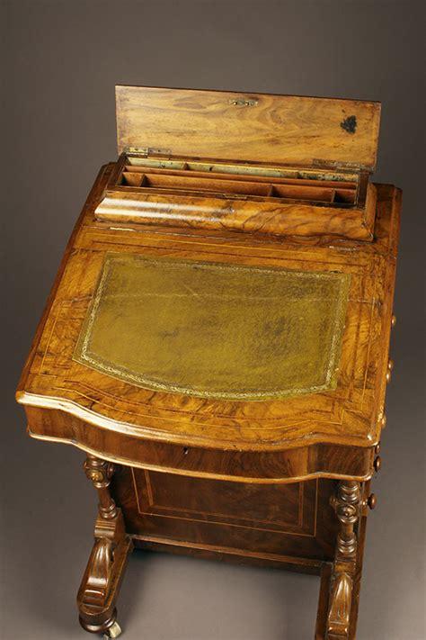 "Antique English ""davenport"" Desk"
