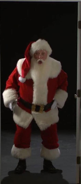 the door santa santa mrs claus and jingles the eld door way