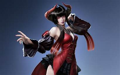 Tekken Eliza Wallpapers Demon Fantasy Woman Background