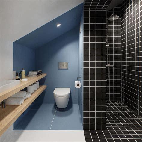 Toilette Et Salle De Bain Am 233 Nagement De Combles Guide Photos Et Prix Au M 178 2018