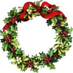 Christmas Wreath Border Clip Art
