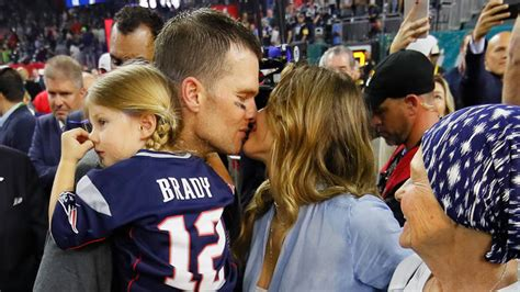 We know interesting facts about his mother, father, three sisters, wife and children. Tom Brady and Gisele's Emotional Super Bowl Celebration ...