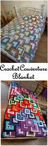 Crochet Couverture Blanket Instructions