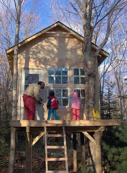 treehouse  place  childhood housepornca