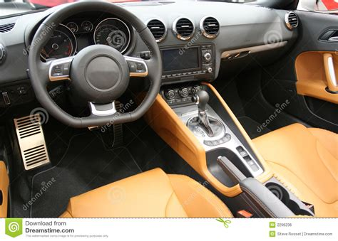 Sports Car Interior Stock Photo Image Of Design, Modern