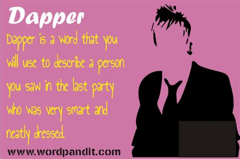 dapper meaning