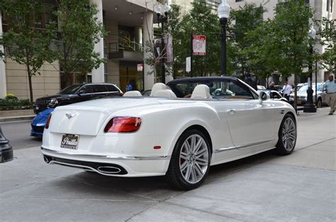 bentley gtc 2017 bentley continental gtc speed stock b832 s for sale
