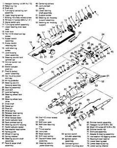similiar 1989 silverado steering column diagram keywords steering column wiring diagram moreover chevy steering column diagram