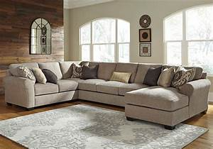 Pantomine 4 Piece Sectional With Right Chaise Armless
