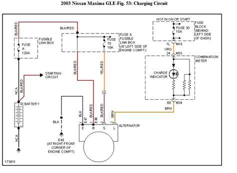 Nissan Altima Alternator Wiring Diagram