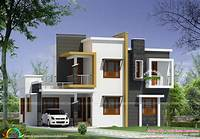 modern home design Box type modern house plan - Kerala home design and floor ...