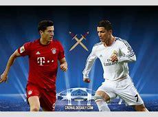 Lewandowski vs Ronaldo Champions League battle