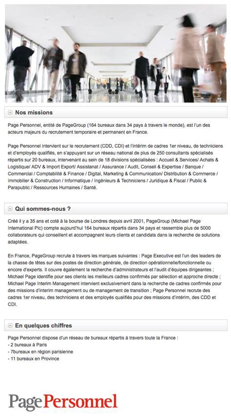 cabinet de recrutement page personnel 28 images cabinet de recrutement et int 233 page
