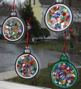 cute ornament for kids to make i think they sell small laminating sheets that just require